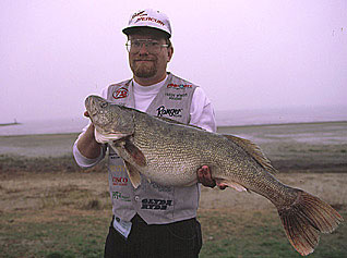 14.64 lb. walleye